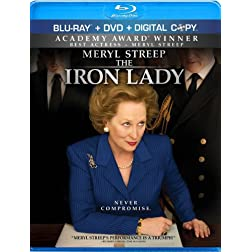 The Iron Lady (Blu-ray/DVD Combo + Digital Copy)