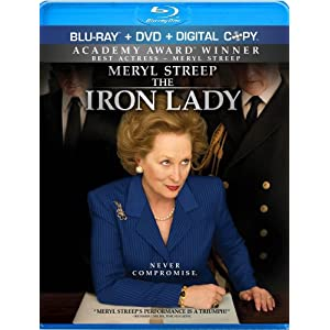 The Iron Lady Blu-ray