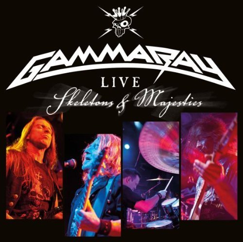 Live - Skeletons and Majesties by Gamma Ray (2012) Audio CD