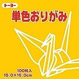 単色折紙15.0CM 107