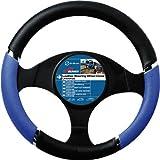 Best Steering Wheel Covers - Sumex Speed PVC Steering Wheel Cover - Blue/ Review
