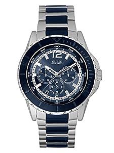 GUESS Men's U0478G2 Analog Display Quartz Two Tone Watch