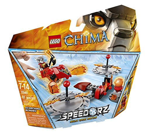 LEGO Chima 70149 Scorching Blades Building Toy