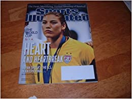 Flip to back Flip to frontHope Solo Sports Illustrated Cover