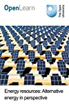 Energy resources: Alternative energy in perspective