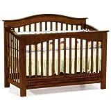 Convertible Crib - Windsor Style Antique Walnut Finish
