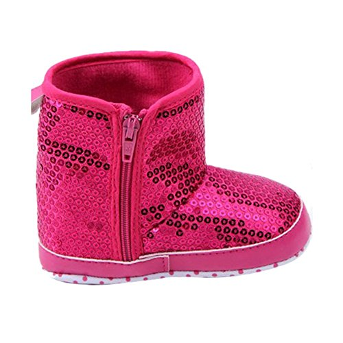 Mette Dresses Baby Girl Toddler Anti Slip Soft Sole Sequins Zipper High Boot