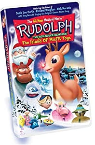 Rudolph The Red-nosed Reindeer The Island Of Misfit Toys Vhs by Good Times Video
