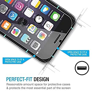 iPhone 6 / 6S Plus Screen Protector , IMKEY® [3D Touch Compatible - Tempered Glass] 5.5 inch Easy Install [1-Pack, 2.5D, 0.2mm] - Retail Packaging - [Life Warranty] from IMKEY®