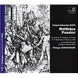 Bach - Passion selon Saint Matthieu ( intégrale 3 CD )