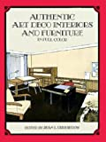 img - for Authentic Art Deco Interiors and Furniture in Full Color book / textbook / text book