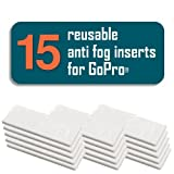 FogFree - Reusable Anti-Fog Inserts for GoPro Cameras - HERO HERO3 HERO3+