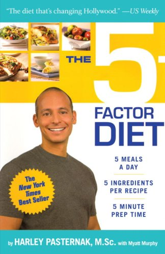The 5-Factor Diet by Harley Pasternak, Myatt Murphy