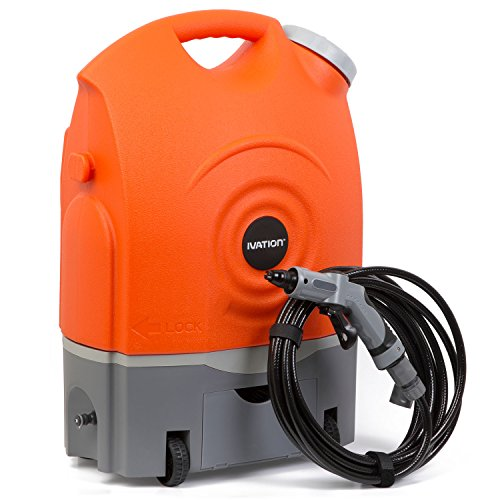 Ivation Multipurpose Portable Spray Washer w/ Water Tank (Electric Powered Pressure Washers compare prices)