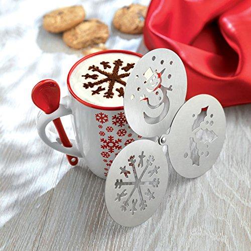 christmas-coffee-stencil-duster-snowflake-mistletoe-snowman-cappuccino-template