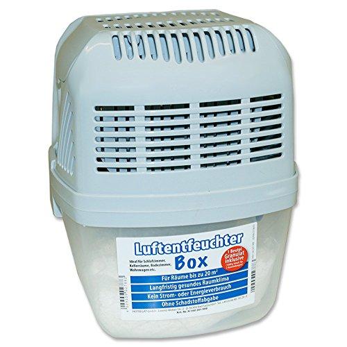 Luftentfeuchter »Box« inklusive 1.000 g Granulat Raumentfeuchter Trockner