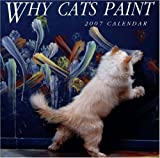 Why Cats Paint Calendar (1580087787) by Ten Speed Press Staff