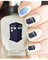 Easy to use, High Quality Nail Art For Every Occasion! Dr who Tardis