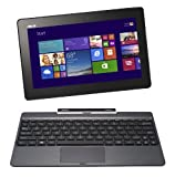"ASUS Transformer Book T100TA-H1-GR 10.1"" Detachable 2-in-1 Touchscreen Laptop, 32GB+500GB (Grey)"