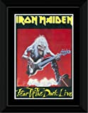 Iron Maiden - Fear Of The Dark Framed and Mounted Print - 14.4x9.2cm