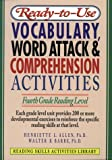 img - for Ready-To-Use Vocabulary, Word Attack & Comprehension Activities: Fourth Grade Reading Level (Reading Skills Activities Library) book / textbook / text book