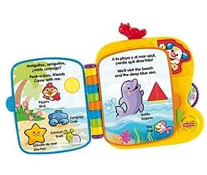 Fisher Price V5714 - Libro Amiguitos Del Zoo (Mattel)