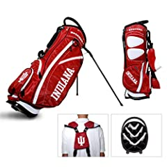 Brand New Indiana Hoosiers NCAA Stand Bag - 14 way by Things for You