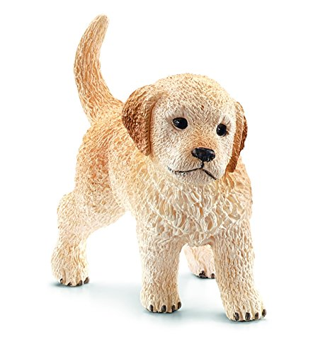 Schleich Puppy Golden Retriever Toy Figure