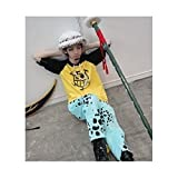 コスプレ衣装 ONEPIECEワンピース・トラファルガー・ロー風衣装上下セット+帽子 Sサイズ コスチューム