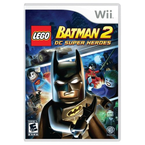 Wii LEGO Batman 2: DC Super Heroes 北米版 【HGオリジナル特典付き】
