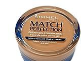 Rimmel match perfection cream gel foundation 300 sand