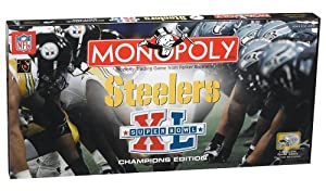 Pittsburgh Steelers Super Bowl Monopoly by Monopoly