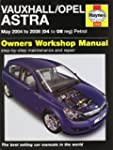 Vauxhall/Opel Astra: May 2004 to 2008...