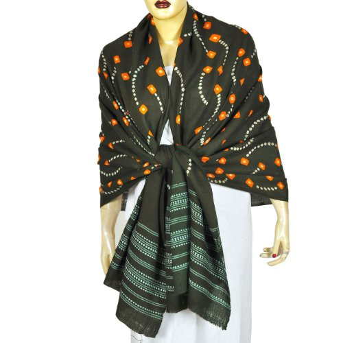 Indian Clothing Tie Dye Scarf Shawl Fashion Clothing Anniversary Gift 35 X 80 Inches Inches
