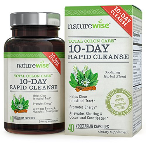 NatureWise 10-Day Rapid Cleanse for Colon Health,