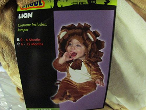 Totally Ghoul Plush Lion Jumper Toddler Halloween Costume 6-12 Months