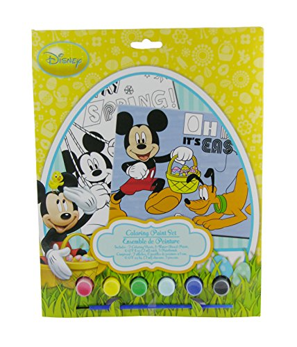 Disney Mickey Mouse Easter Coloring Paint Set - 1