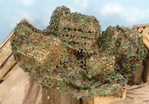 Plastic Camouflage Decorative Netting (8 X 6 Ft) front-904024