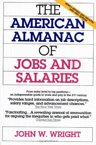 The American Almanac Of Jobs And Salaries (2000-2001 Edition) front-26840