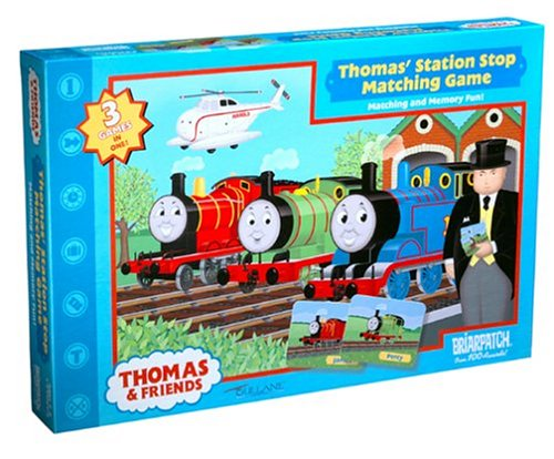 Thomas & Friends Station Stop Matching Game - Buy Thomas & Friends Station Stop Matching Game - Purchase Thomas & Friends Station Stop Matching Game (Briar Patch, Toys & Games,Categories,Games,Card Games,Card Games)