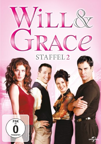 Will & Grace - Season 2 [4 DVDs]
