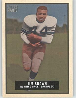 Jim Brown - Syracuse - Cleveland Browns - 2009 Topps Magic NFL Trading Card