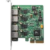 HighPoint RocketU Quad USB 3.0 PCI-Express 2.0 x4 RAID HBA for Mac