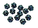Learning Advantage 7342 20-Sided Polyhedra Dice (Pack of 12)