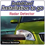 Radar Detector Single Sensor Installation