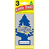 Little Trees New Car Scent 吊り下げタイプ air freshener 3-paks(3枚入り)