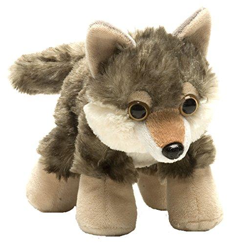 Wild Republic Hug Ems Wolf Plush Toy