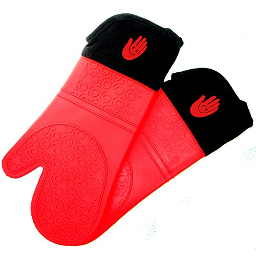Homwe Professional Silicone Oven Mitt - 1 Pair