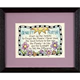 Dimensions Crafts Senility Prayer Mini Stamped Cross Stitch Kit 7X5 6945