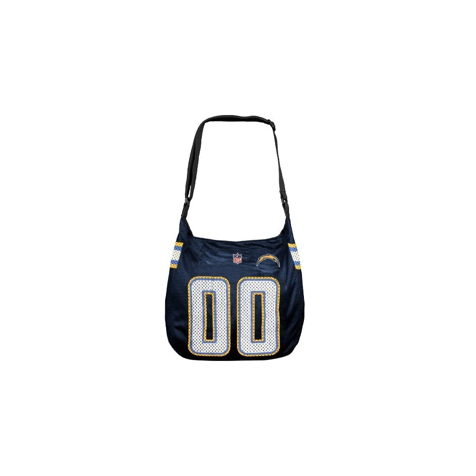 NFL San Diego Chargers Navy Blue Veteran Jersey Tote Bag